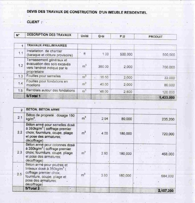 House construction bill of quantities sample for house construction bill of quantities sample for house construction pictures thecheapjerseys Image collections