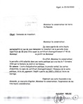 01 - Copy of land title transfer application letter(signed and stamped)
