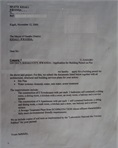 Application letter for construction permit