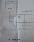 Architectural layout drawings