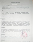 Notarized purchase agreement