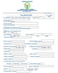 Complete filled application form